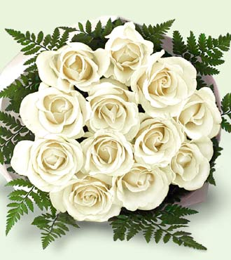 فكل واحدة تختار لون معين من الورود و تهدي الباقة