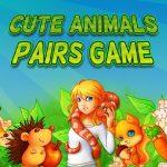 لعبة أزواج الحيوانات لطيف