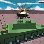 هليكوبتر ودبابات معركة عاصفة الصحراء