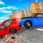 سيارة تدمير سيارة