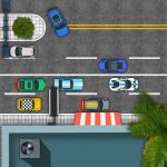 وقوف السيارات في المدينة 2D