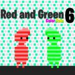 الأحمر والأخضر 6 لون المطر