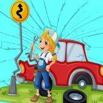 السيارات المكسورة بانوراما