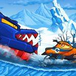سيارة تأكل السيارة: مغامرة الشتاء