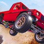 لعبة السيارات الضخمة المنحدر ثلاثي الأبعاد
