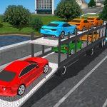 محاكاة شاحنة نقل السيارات