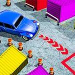 الكلاسيكية مواقف السيارات 3D