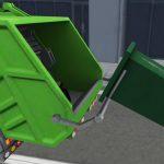 شاحنة الصرف الصحي القمامة