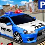 مواقف سيارات الشرطة الحديثة 3D