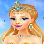الأميرة كول – لعبة تلوين كتاب شارع التلوين