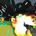 روبوت قاعدة تبادل لاطلاق النار 3D