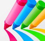 قلم رصاص راش 3D